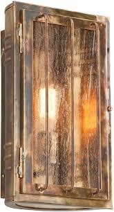troy b4682hbz joplin solid brass outdoor lighting sconce loading zoom