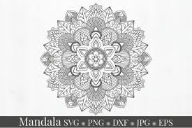 Please share the direct link to this page, instead of actual file! Mandala Ornament Monogram Svg Graphic Graphic By Alyviaskye Creative Fabrica