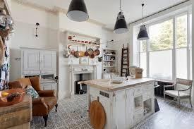 boho chic furniture. Boho Chic Furniture Kitchen Island Cabinet Shelves Armchair Ladder Books Pendant Lights