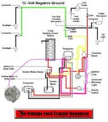 ford tractor wiring diagram images wiring diagram for 1964 2000 ford tractor circuit and