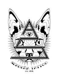 Artstation Serdeña Tattoo Studio Logo Kevin Allam