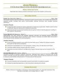 Tutor Resume Examples Freeletter Findby Co