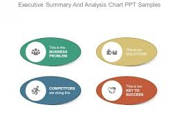 Executive Summary And Analysis Chart Ppt Samples