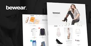 <b>Bewear</b> - Lookbook Style eCommerce PSD Template by bcube ...