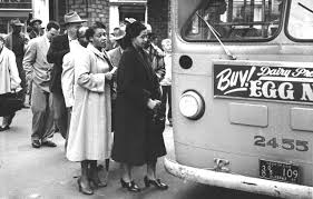 Rosa parks date of bus