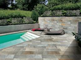 Piastrella In Legno Per Esterni : Pavimento per esterni in gres porcellanato effetto pietra natural