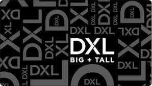 Big and Tall   Gift Card   DXL Men's Clothing Store