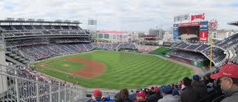 Washington Nationals Stadium Seating