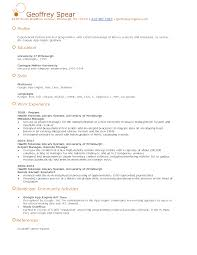 Gallery Of Google Resume Template