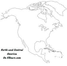 North And South America Blank Map Outline Of South America Map Locksmithaustin Co