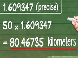 Miles And Kilometers Conversion Chart How To Convert Miles To Kilometers 9 Steps With Pictures