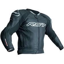 rst tractech evo 3 ce leather jacket black black thumb 0