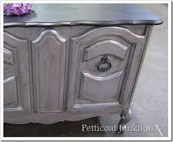 silver painted furniture. Martha Stewart Metallic Paint For Furniture Silver Painted Z