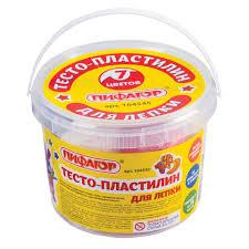 Пластилин на растительной основе (<b>тесто для лепки</b>) <b>ПИФАГОР</b> ...