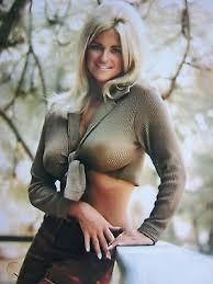EXCELLENT PHOTO ...10 '' X 8 '' ...OF LINDA VAUGHN,MISS HURST GOLDEN  SHIFTER | #515090499