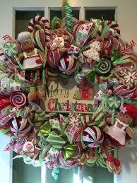 Christmas Craft Idea A Candy Cane Wreath Thatu0027ll Make Your Door Candy Cane Wreath Christmas Craft