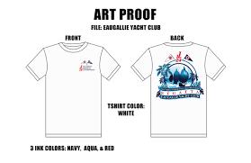 Yacht T Shirt Designs Eau Gallie Yacht Club Regatta Race Shirt Design 2015 On Behance