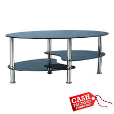 cara coffee table black