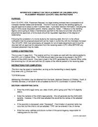 icpc form 100a icpc missouri forms fill online printable fillable blank