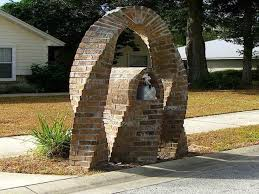 stone mailbox designs. Image Of: Stacked Stone Mailbox Designs R