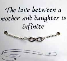 Mother And Daughter Infinity Charmcelet With Inspirational Quote Fascinating Infinity Love Quotes