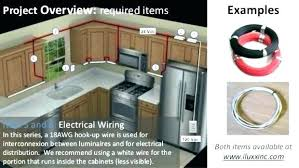 adding cabinet lighting. Installing Under Cabinet Led Lighting Kitchen Adding Hard Wired Wiring Har D