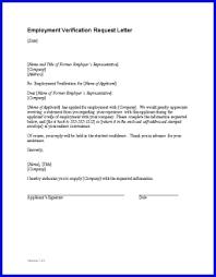 employment verification letter sample employment verification regarding sample employment verification letter