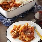 baked italian sausage and rigatoni
