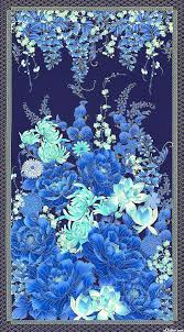 141 best Fabrics images on Pinterest | Fabric online, Prints and ... & Imperial Garden - Under the Wisteria - Blue - x 44 PANEL Quilt fabric  online store Largest Selection, Fast Shipping, Best Images, Ship Worldwide Adamdwight.com