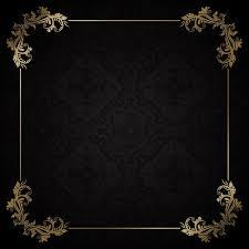 black and gold frame png. Interesting Png Elegant Golden Frame On A Black Background Free Vector With Black And Gold Frame Png D