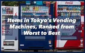Japanese Vending Machines Mesmerizing The 48 Weirdest Items In Tokyo Vending Machines Ranked From Worst To