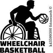 車椅子 バスケットボール グラフィックス 305 車椅子 バスケットボール