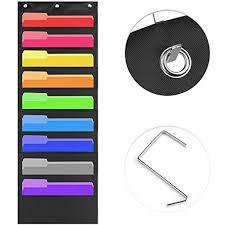 Aofu Storage Pocket Chart Hanging File Organizer Folder