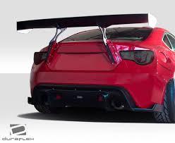 subaru brz red with spoiler. Exellent Spoiler For 20132016 Scion FRS Subaru BRZ Duraflex GT500 Wing Trunk Lid Spoiler   1 Piece Throughout Brz Red With