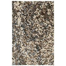 mohawk home chaos theory dark earth 8 ft x 10 ft area rug 489014 the home depot