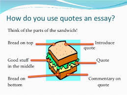 integrating quotes how do you use quotes an essay