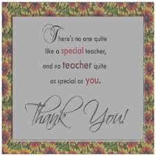 Thank You Teacher Quotes thank you teacher greeting card messages greeting cards 43