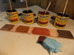 Minwax Stain Mixing Chart Custom Mixing Stains Minwax Blog