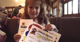 Awana Certificate Of Award Houle House Ashtons Awana Awards