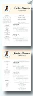 Professional Modern Resume Template – Poquet