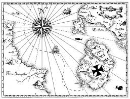 Small Picture Pirate Treasure Map Coloring Page Getcoloringpages Com Coloring