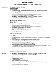 Exercise Science Resumes Cool Exercise Physiologist Resume Summary Resume Exercise Science