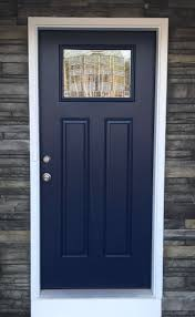 Blue Front Door, Navy Front Door, Paint Color: Salty Dog, Sherwin-