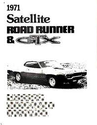 amazon com 1971 plymouth road runner satellite electrical wiring 1971 plymouth road runner satellite electrical wiring diagrams schematic factory