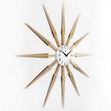41 mid century modern clocks to