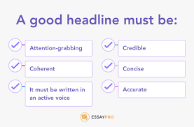 how to title an essay tips features essaypro before you start sorting out ideas in your head it would be useful to learn more about features that every title should have a good headline must be