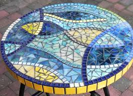 Stained Glass Coffee Table Stained Glass Mosaic Coffee Table Side Table Plant Stand Small