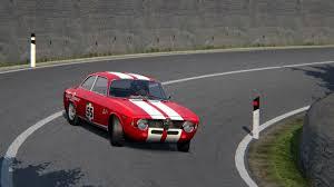 Alfa Romeo GTA Junior drift - YouTube