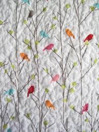 bird quilt LOVE LOVE TRIPLE LOVE! In blues , purples, and accent ... & bird quilt LOVE LOVE TRIPLE LOVE! In blues , purples, and accent of yellow Adamdwight.com