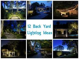 outside house lighting ideas. 12-backyard-lighting-ideas Outside House Lighting Ideas